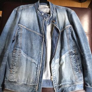 Size 4 Nonnative Indigo Denim Rider Jacket!